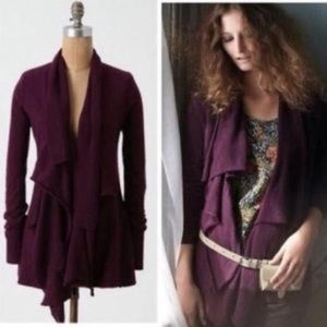 Anthropologie Sparrow Fresh Perspective Cardigan
